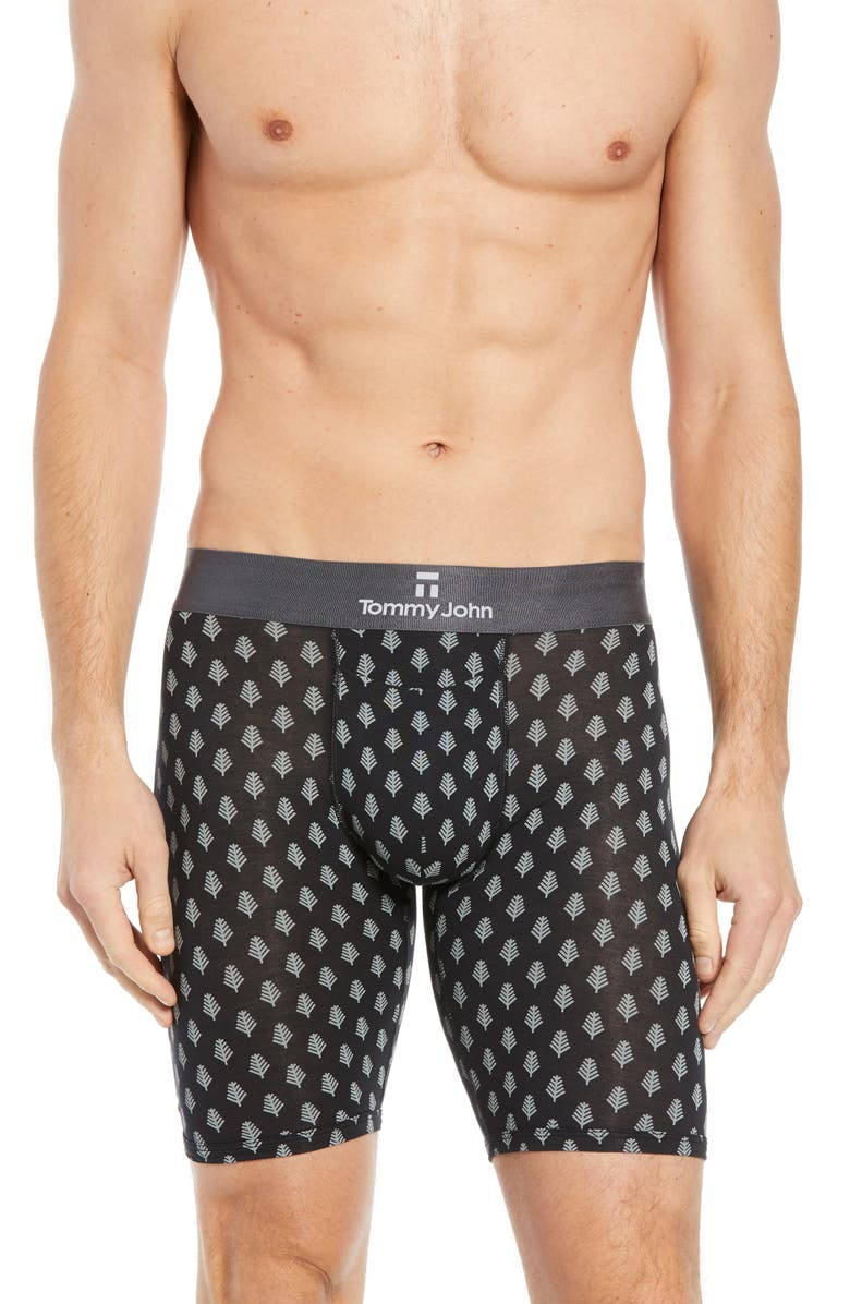 Tommy John Second Skin Snowy Forest Boxer Briefs