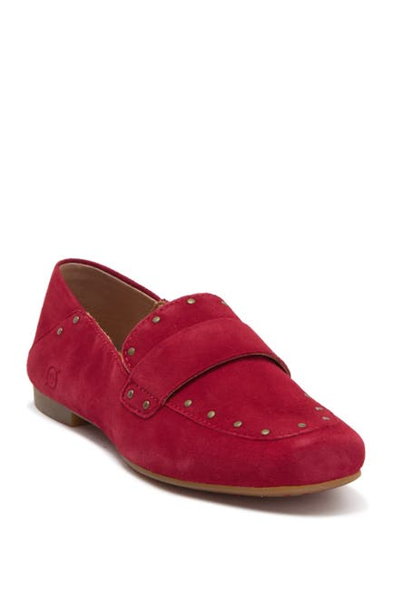 Image of Born Ballo Suede Studded Loafer