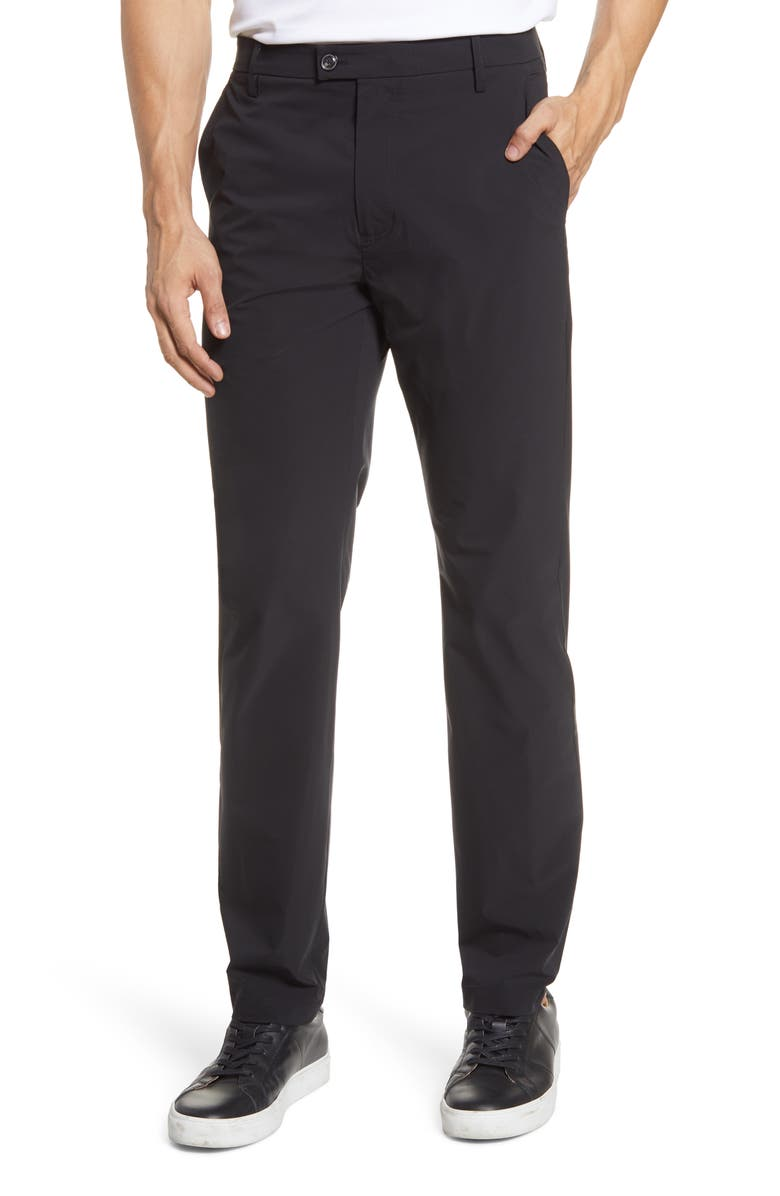7 FOR ALL MANKIND<SUP>®</SUP> Ace Modern Slim Fit Trousers, Main, color, BLACK