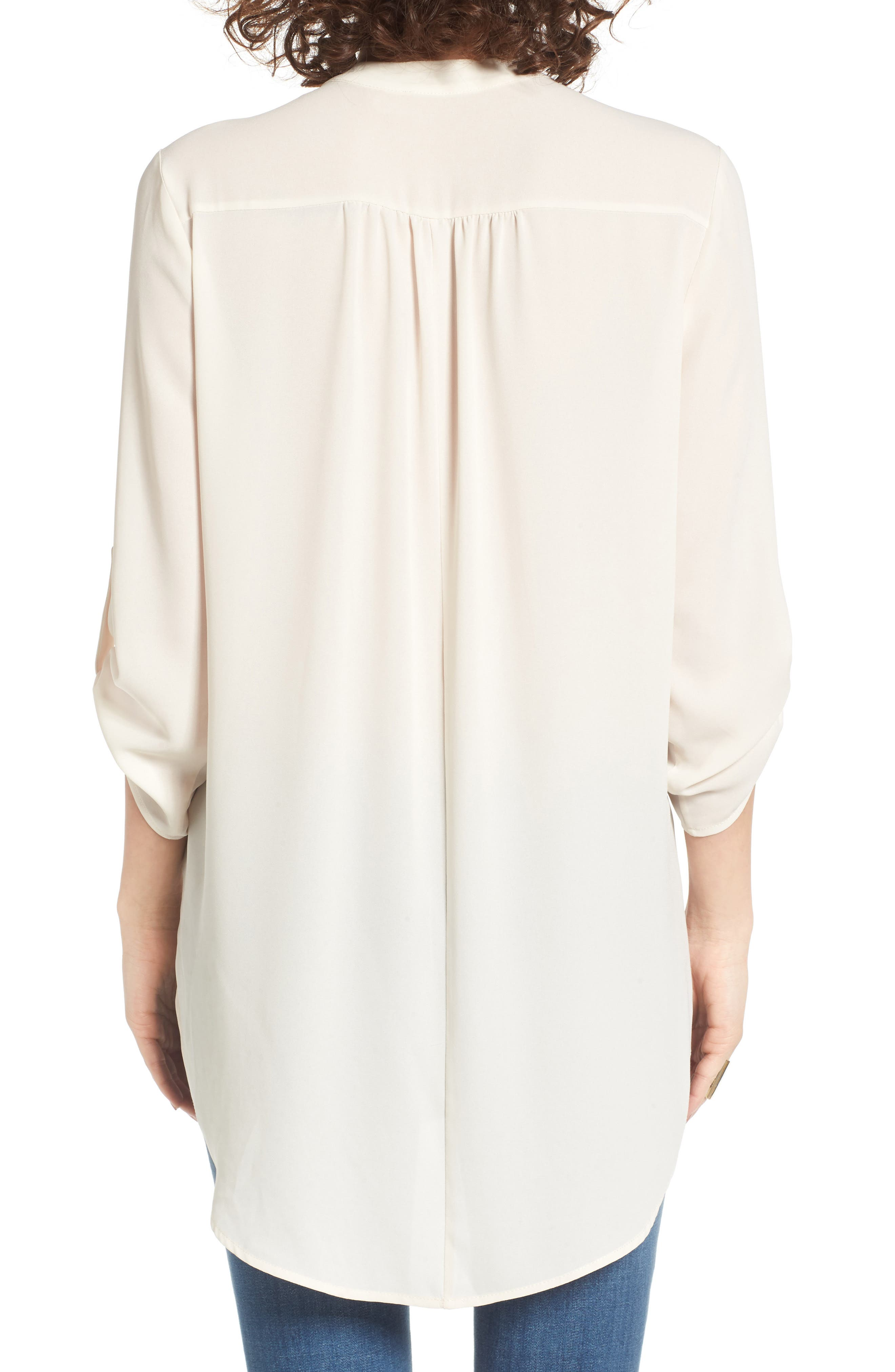 ,                             Perfect Roll Tab Sleeve Tunic,                             Alternate thumbnail 420, color,                             904