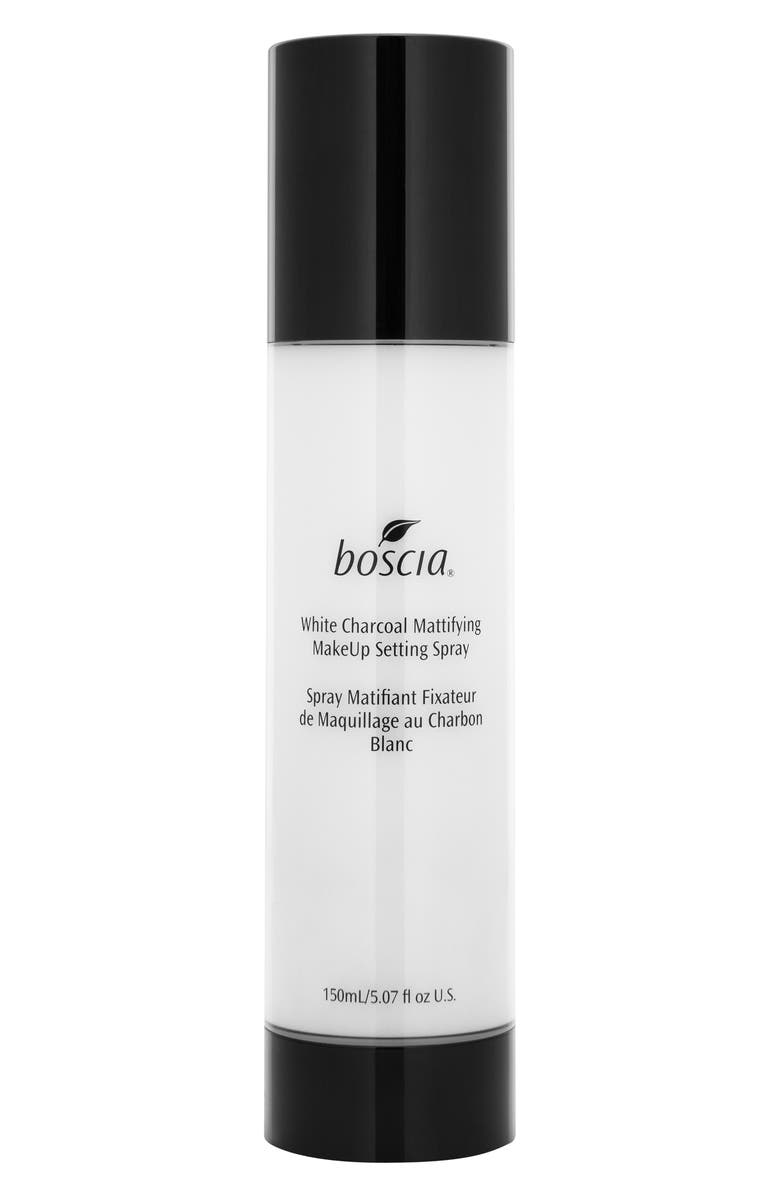 BOSCIA White Charcoal Mattifying Makeup Setting Spray, Main, color, 000