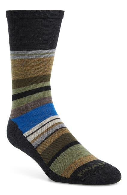 Image of SmartWool Saturnsphere Striped Crew Socks