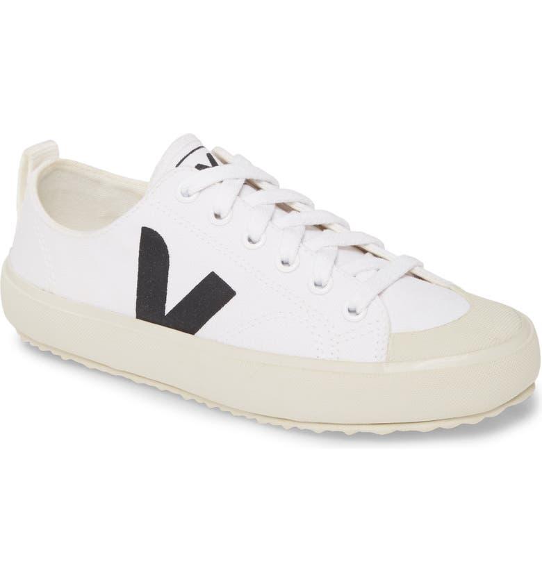 VEJA Nova Sneaker, Main, color, WHITE/ BLACK
