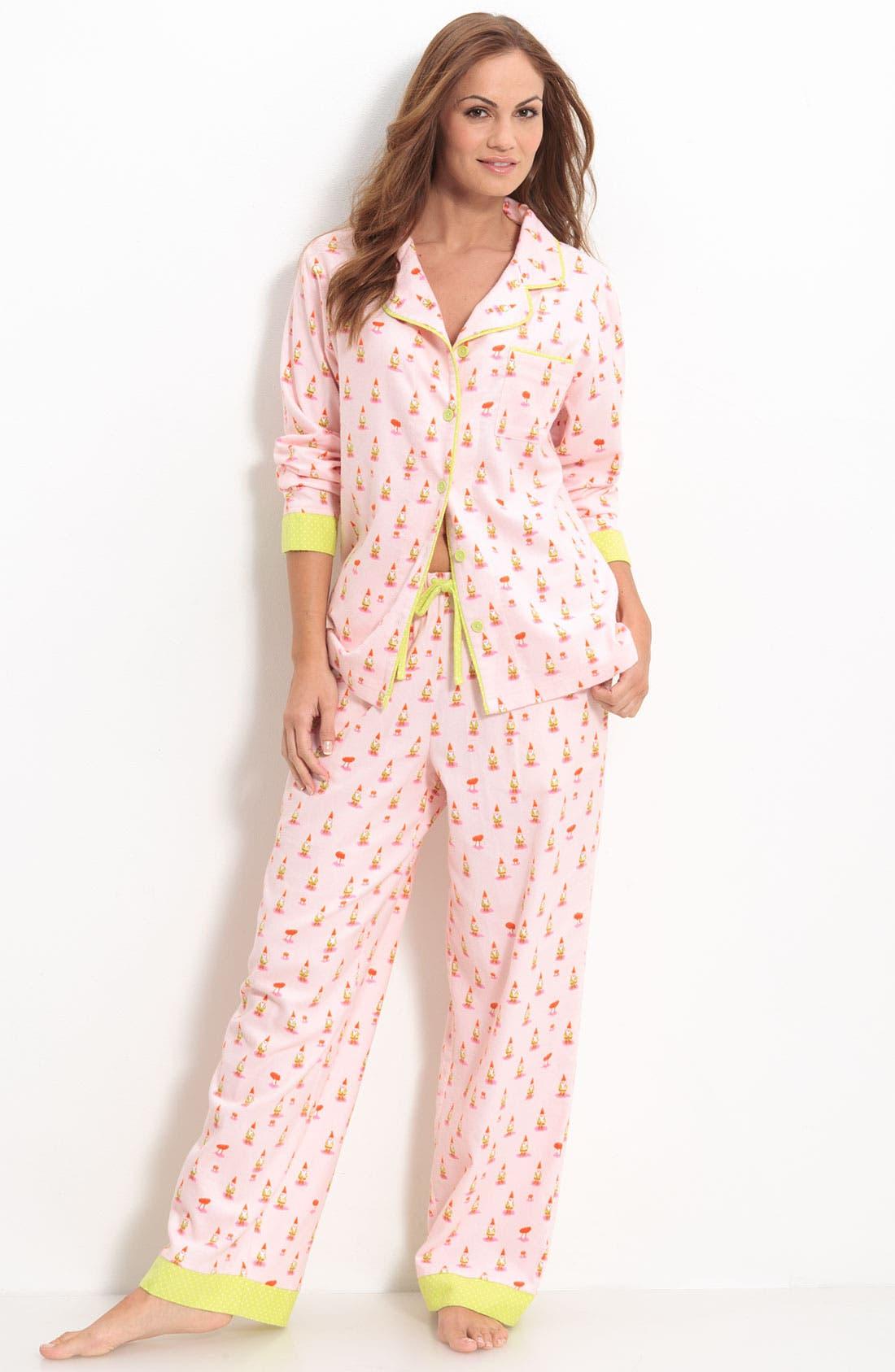 ,                             Flannel Pajamas,                             Main thumbnail 75, color,                             662