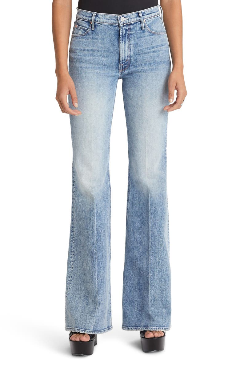 MOTHER The Doozy Flare Jeans, Main, color, 15 MINUTES