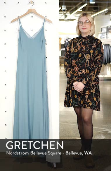 Lace Trim Maxi Dress, sales video thumbnail