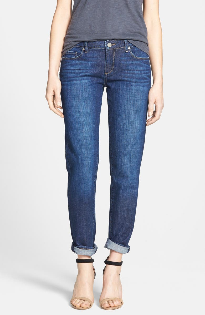 PAIGE Denim 'Jimmy Jimmy' Boyfriend Skinny Jeans, Main, color, 401