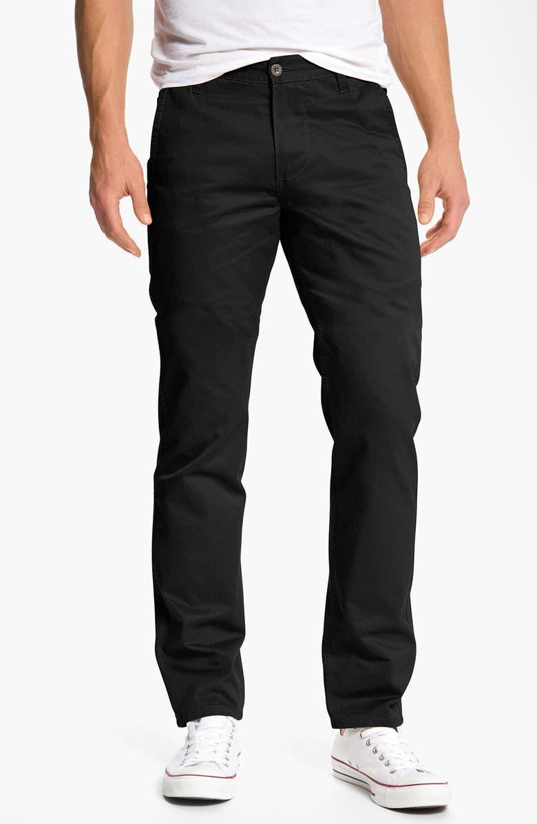DOCKERS<SUP>®</SUP> 'Alpha Khaki' Slim Straight Leg Chinos, Main, color, 019