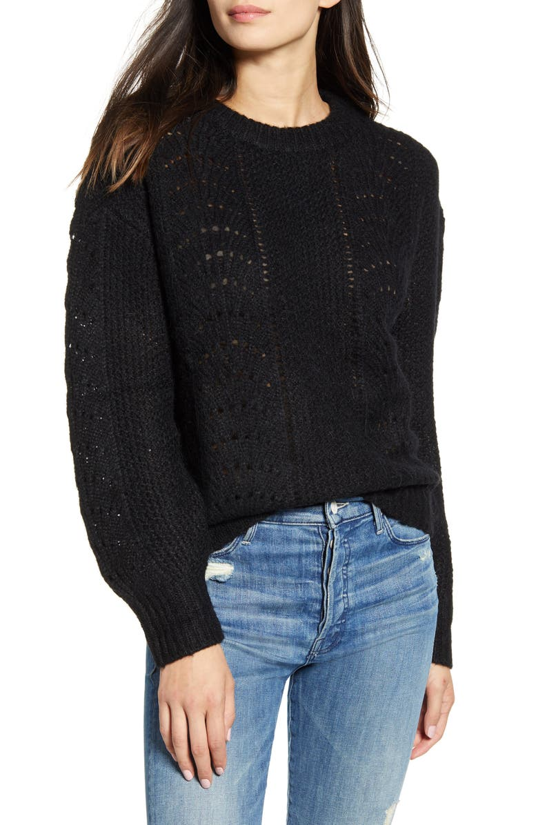 RAILS Mara Sweater, Main, color, BLACK