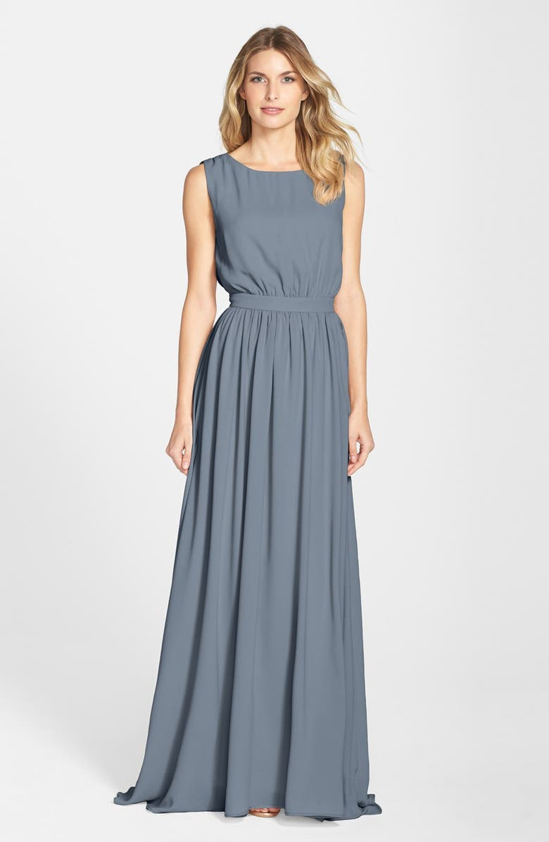 7b3c6fbacd5e5 Paper Crown by Lauren Conrad 'Tori' Crepe Gown | Nordstrom