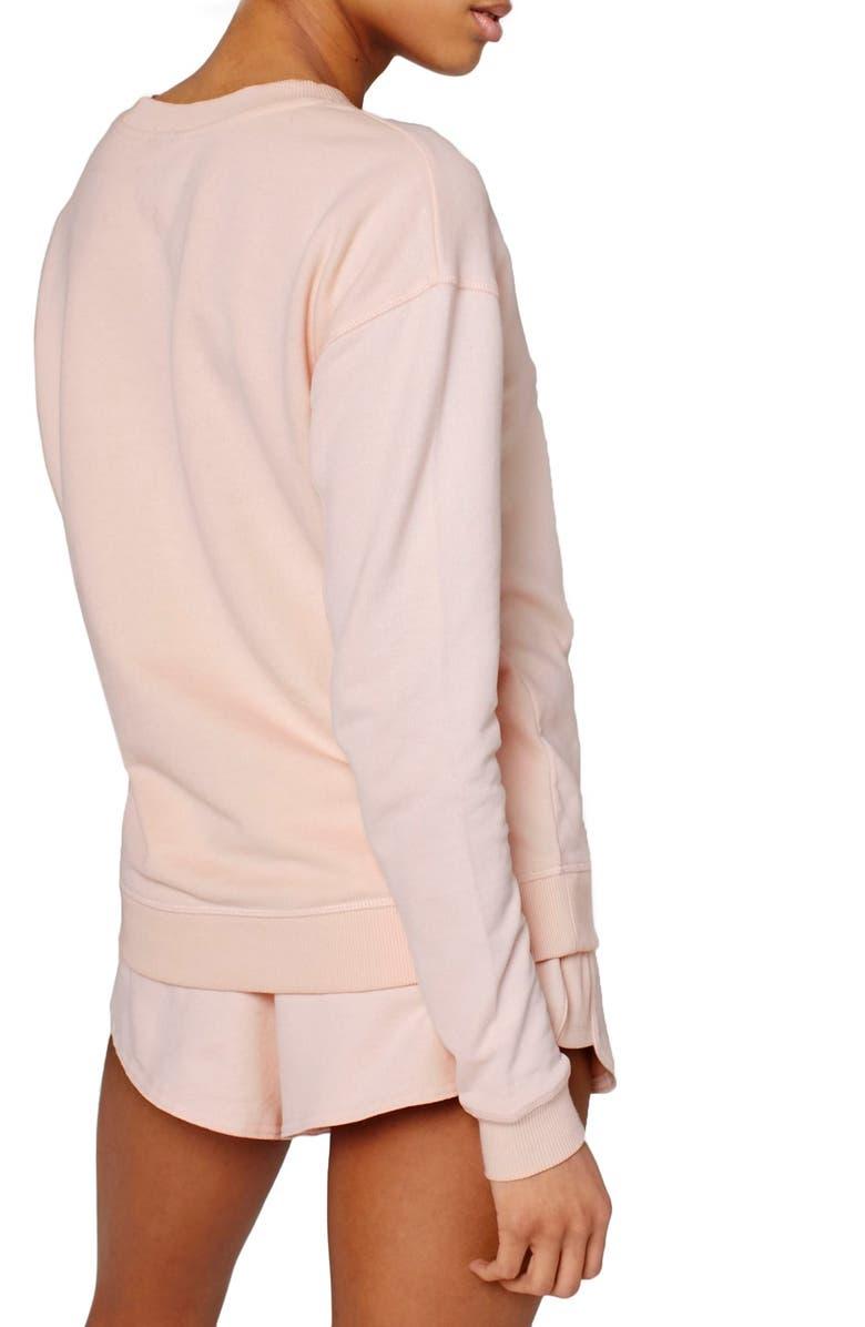IVY PARK<SUP>®</SUP> Logo Crewneck Sweatshirt, Main, color, 650