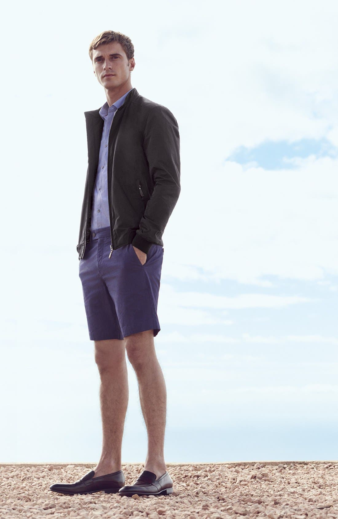 ,                             'Noroed' Slim Fit Dobby Shorts,                             Alternate thumbnail 2, color,                             410