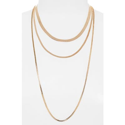 Bp. Layered Snakechain Necklace