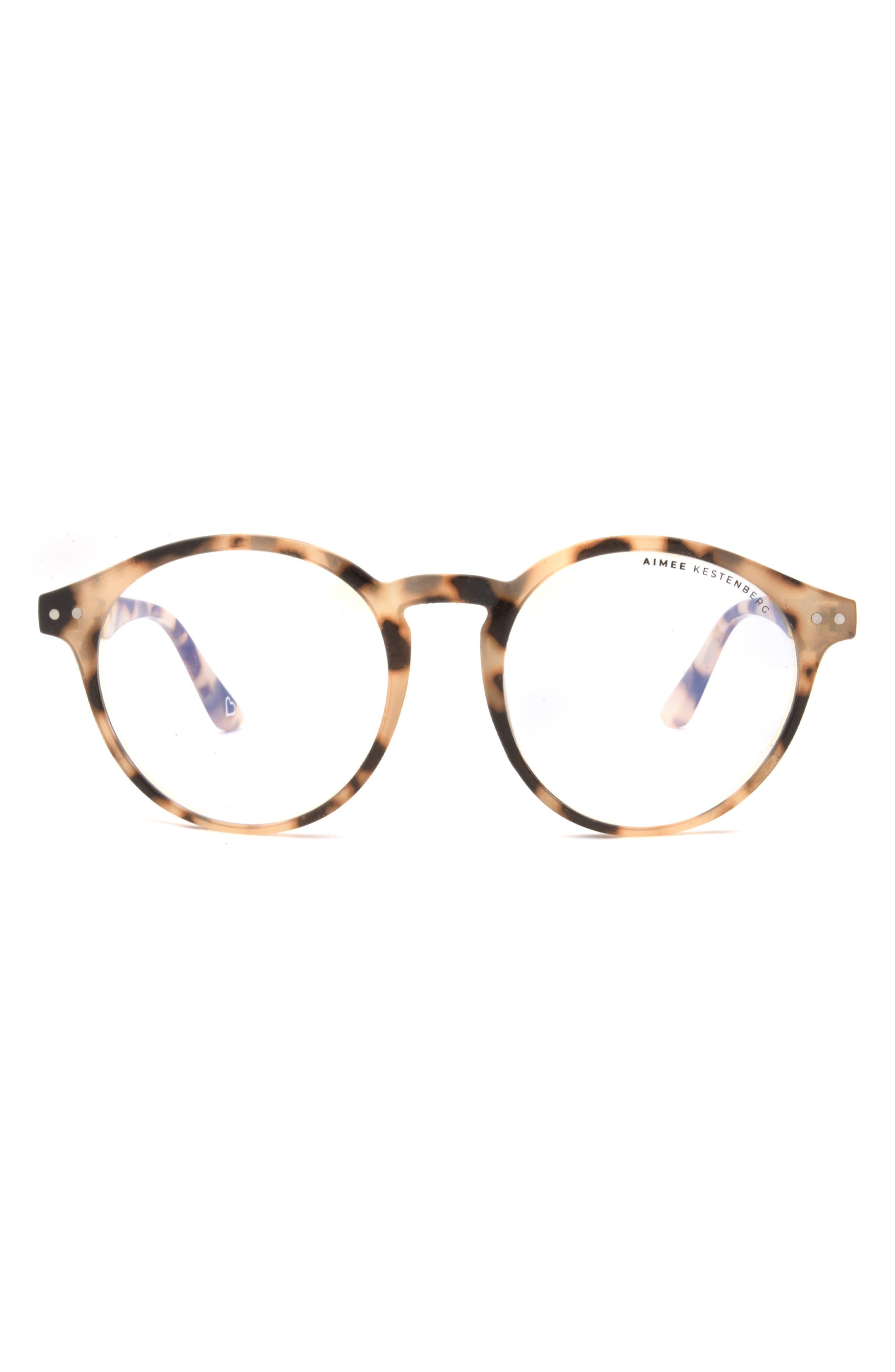 Ludlow 50mm Round Blue Light Blocking Glasses