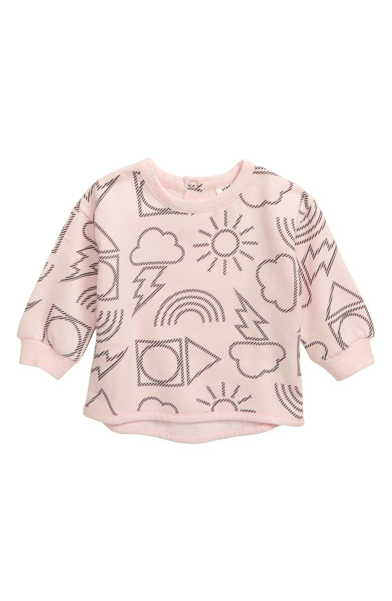 STEM Willow Sweatshirt, Main, color, PINK SOFT BETTER WEATHER