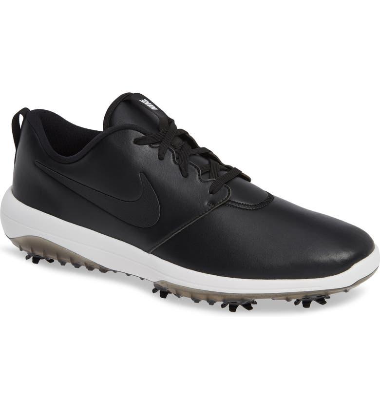 NIKE Roshe G Tour Golf Shoe, Main, color, 001