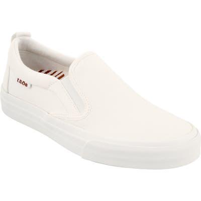 Taos Rubber Soul Slip-On Sneaker- White