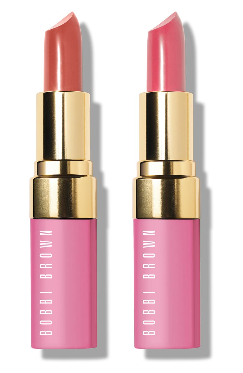 BOBBI BROWN Breast Cancer Awareness Full Size Lipstick Duo, Main, color, NO COLOR