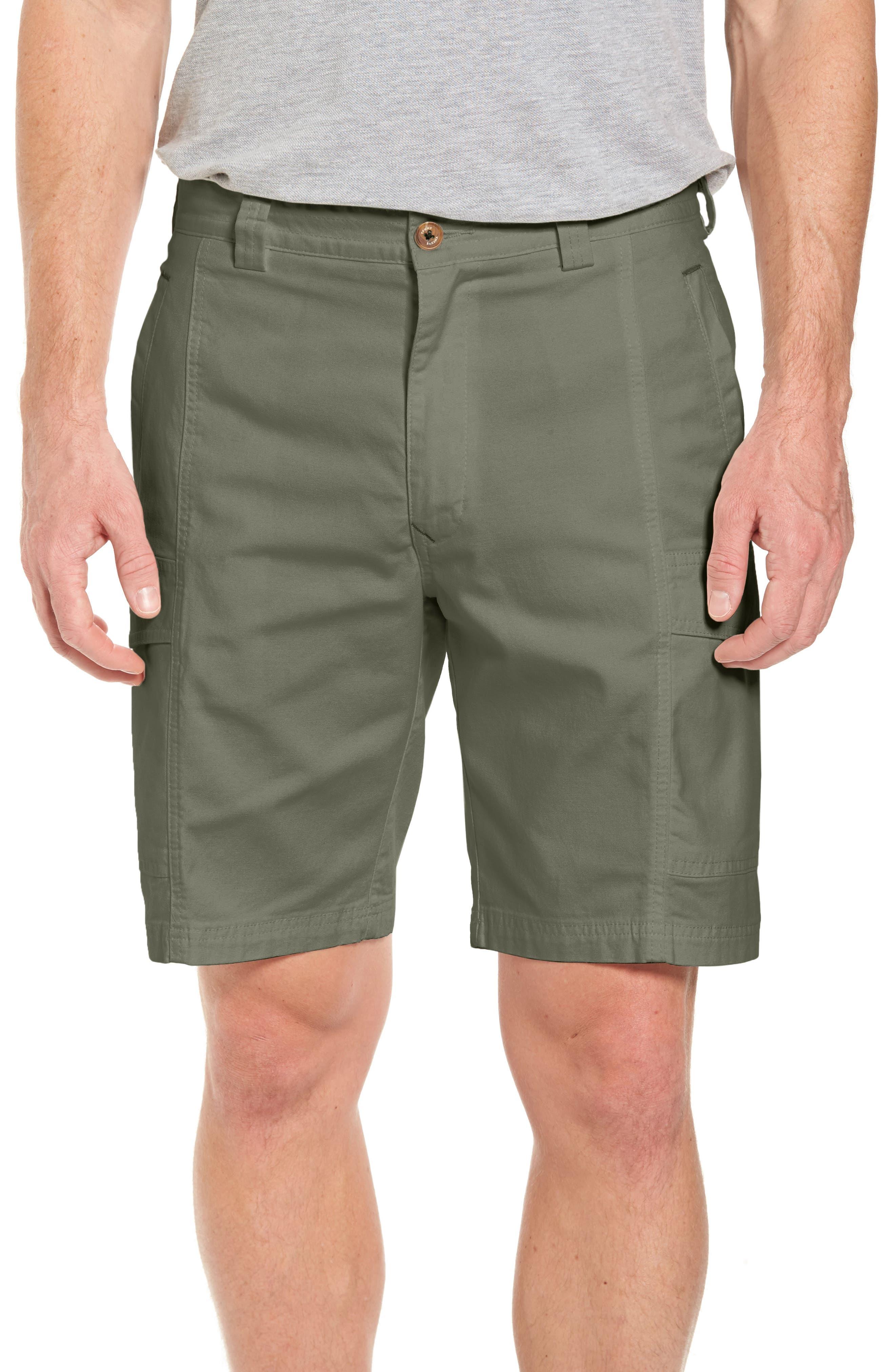 Tommy Bahama Key Isles Cargo Shorts, Green