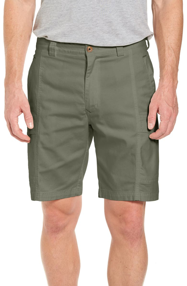 TOMMY BAHAMA Key Isles Cargo Shorts, Main, color, TEA LEAF