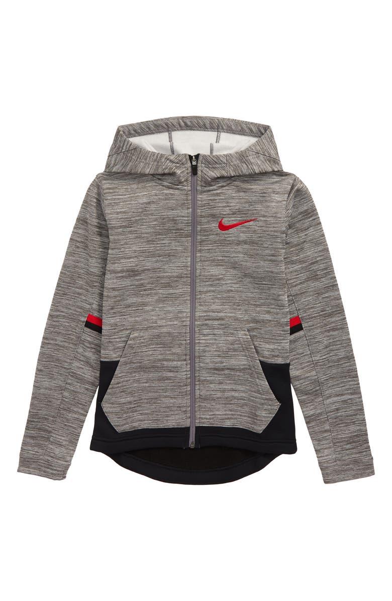 Nike Therma Elite Dri FIT Full Zip Hoodie (Little Boys & Big