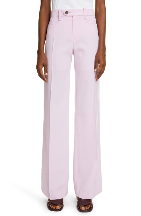 Chloé STRAIGHT LEG WOOL TROUSERS