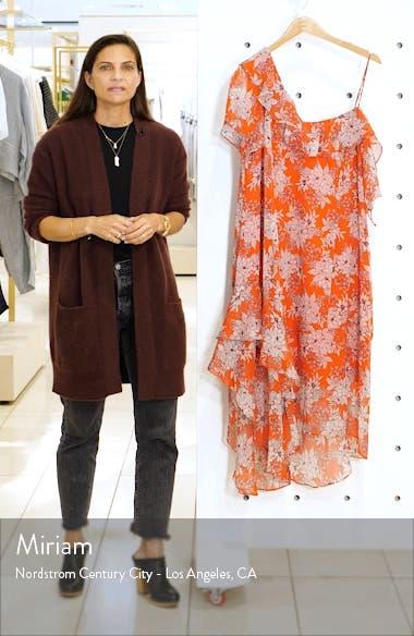 Floral Asymmetrical Dress, sales video thumbnail