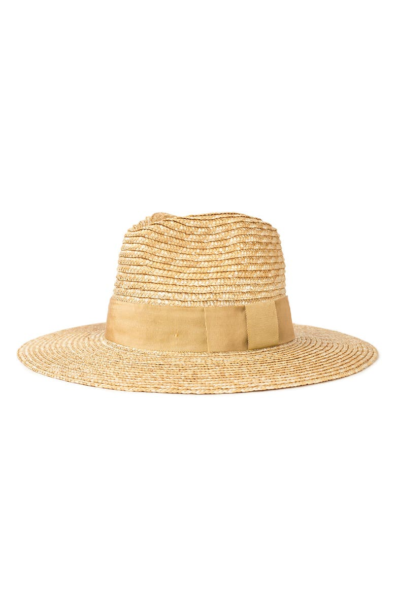 BRIXTON Joanna Straw Hat, Main, color, HONEY/ HONEY