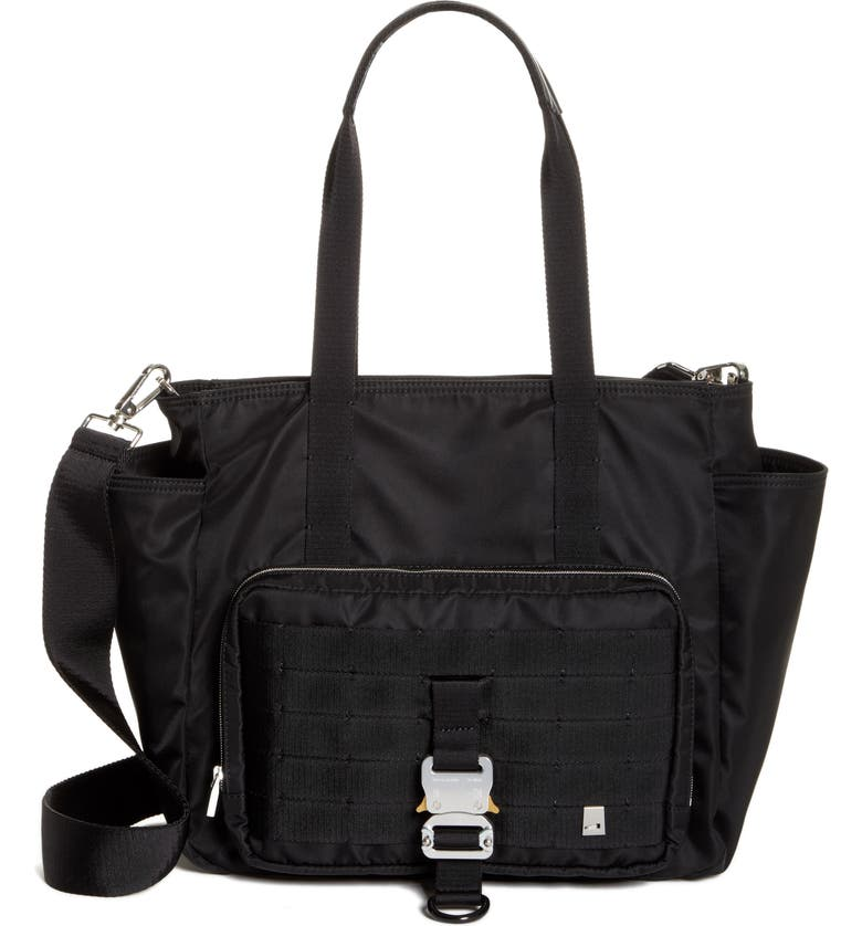 1017 ALYX 9SM Diaper Bag, Main, color, BLACK