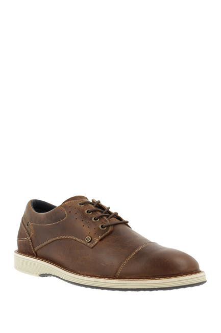 Image of Bullboxer Cap Toe Leather Derby