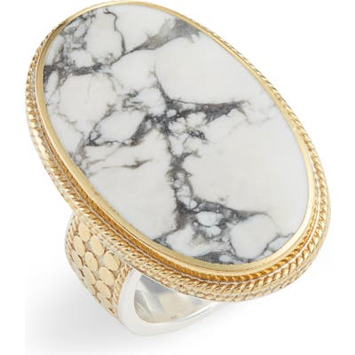 Anna Beck Howlite Cocktail Ring