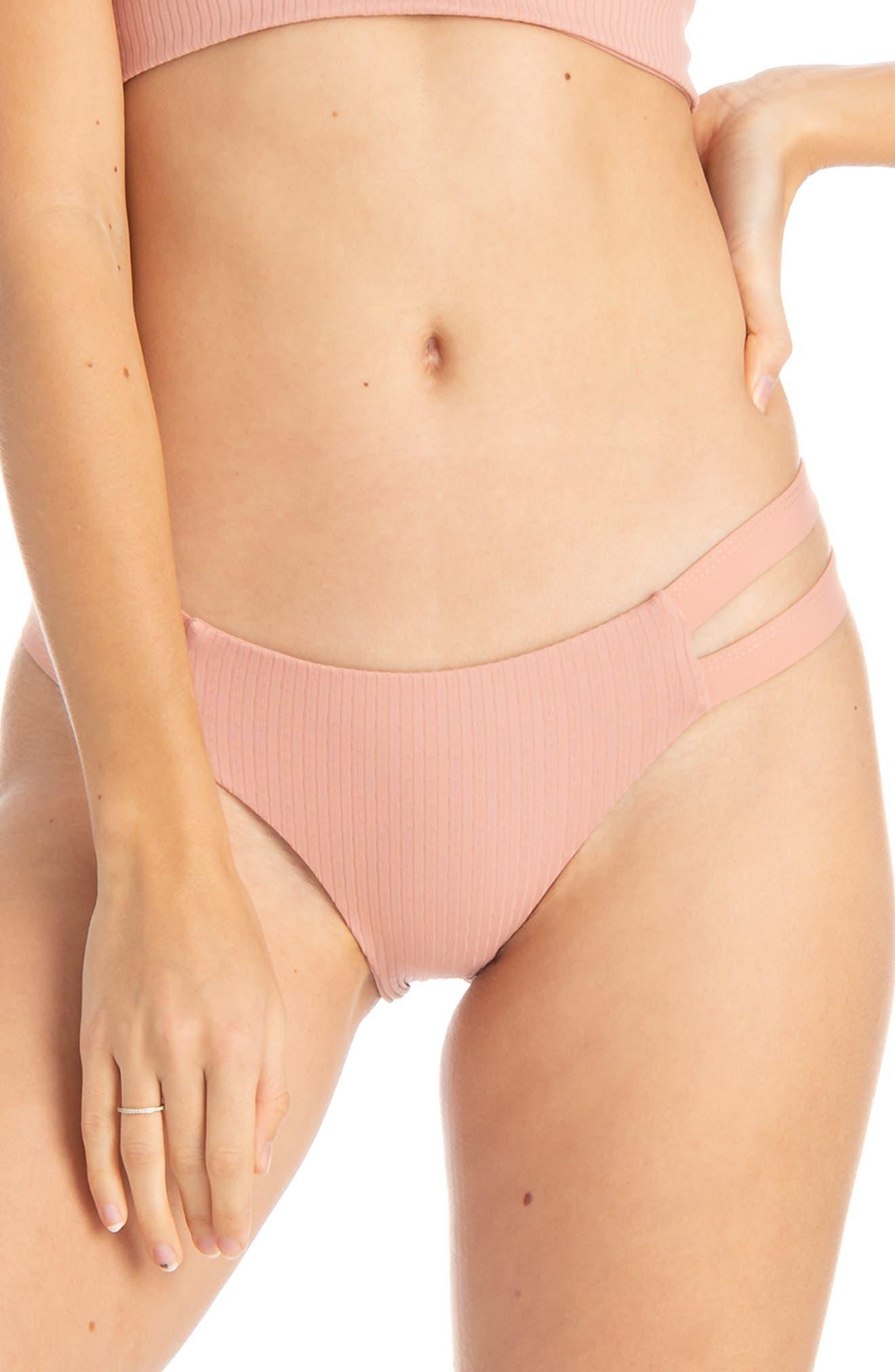 Tavik Chloe Bikini Bottoms, Coral