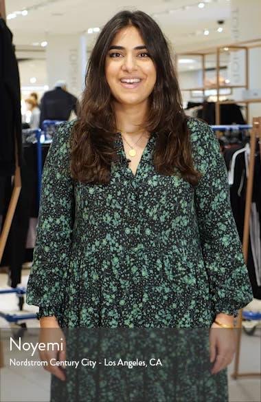 Bow Detail Flounce Midi Dress, sales video thumbnail