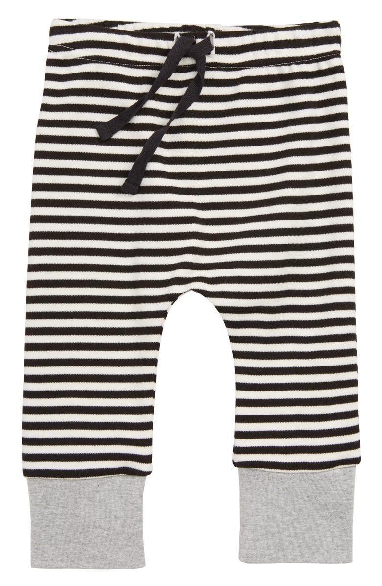 7ba90667ed City Mouse Stripe Organic Cotton Jogger Pants (Baby)   Nordstrom