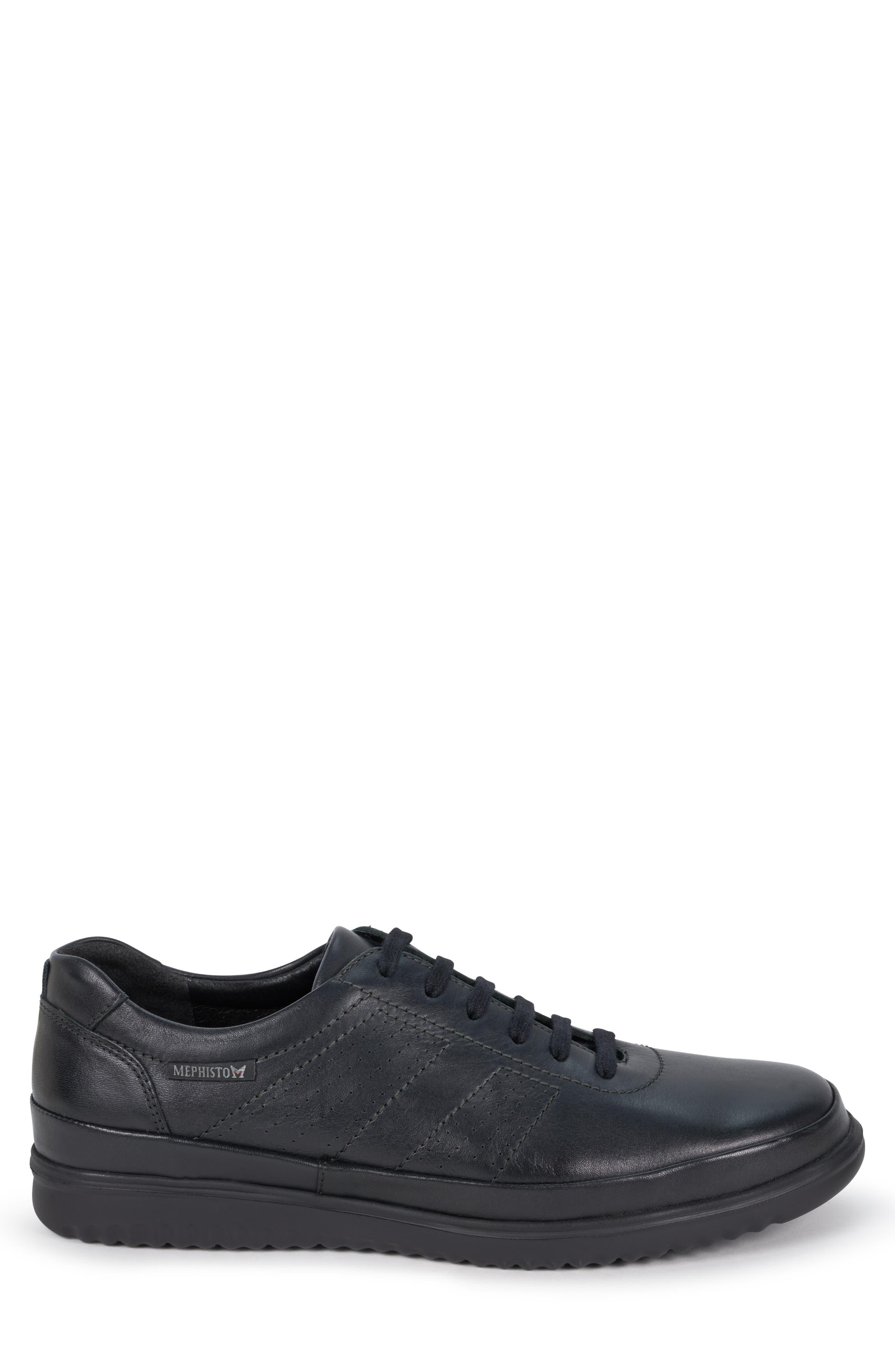 ,                             Tomy Sneaker,                             Alternate thumbnail 3, color,                             BLACK LEATHER