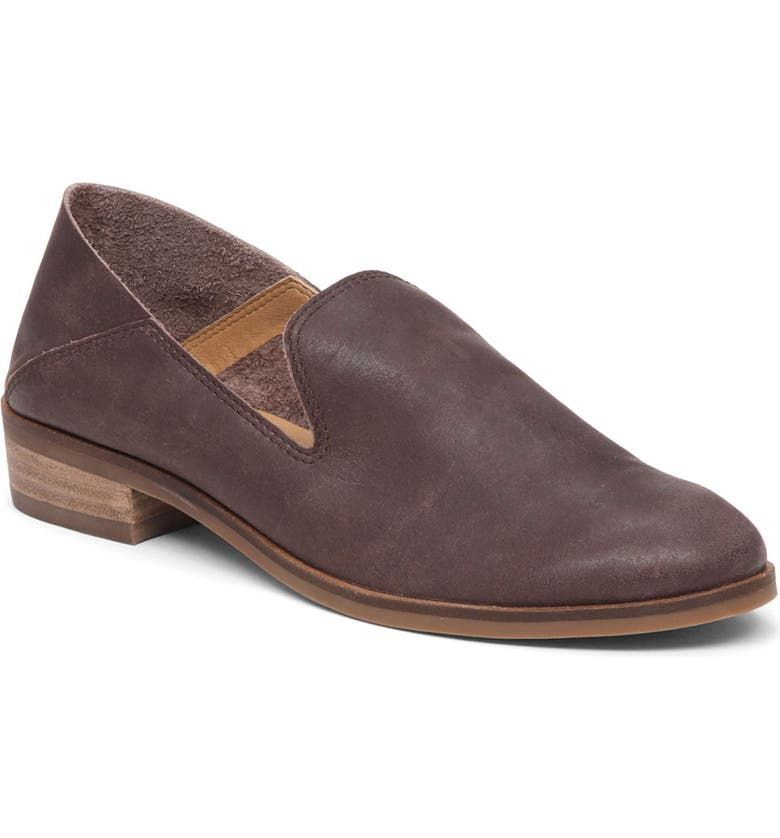 LUCKY BRAND Cahill Flat, Main, color, JAVA LEATHER