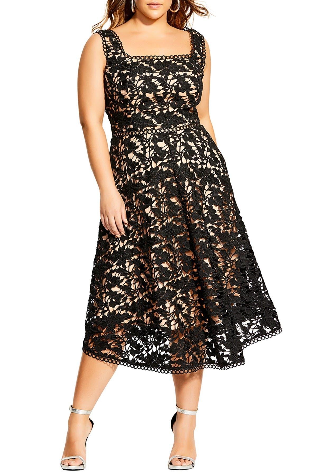 Image of City Chic Lace Avery Dress