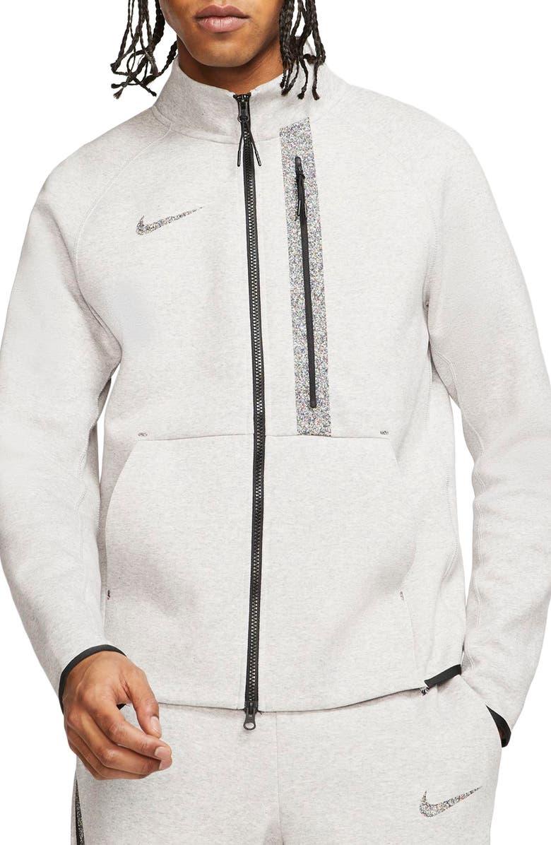 NIKE 50 Tech Fleece Jacket, Main, color, MULTI-COLOR/ WOLF GREY/ BLACK