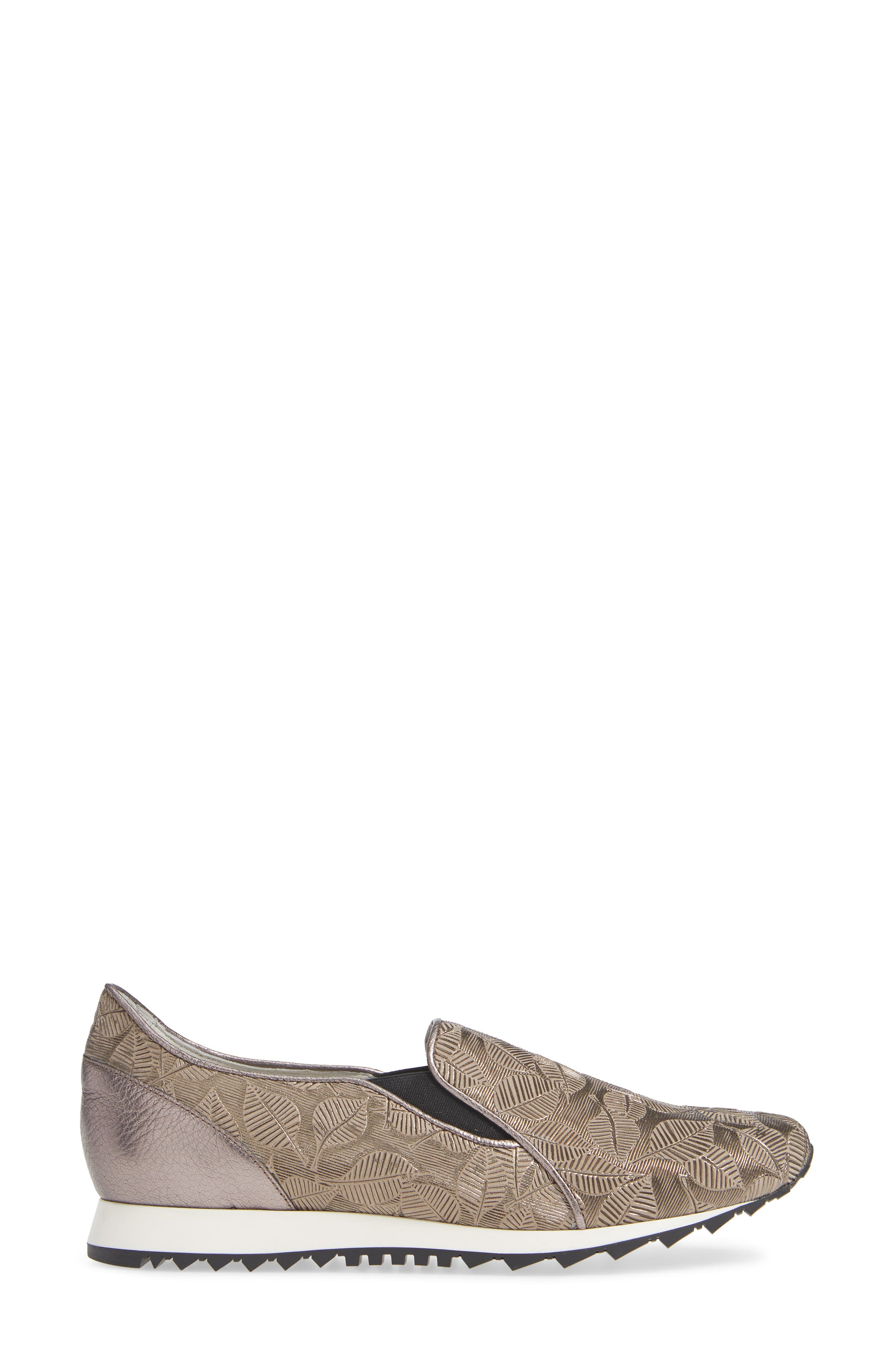 ,                             Francia Slip-On Sneaker,                             Alternate thumbnail 3, color,                             TAUPE LEATHER