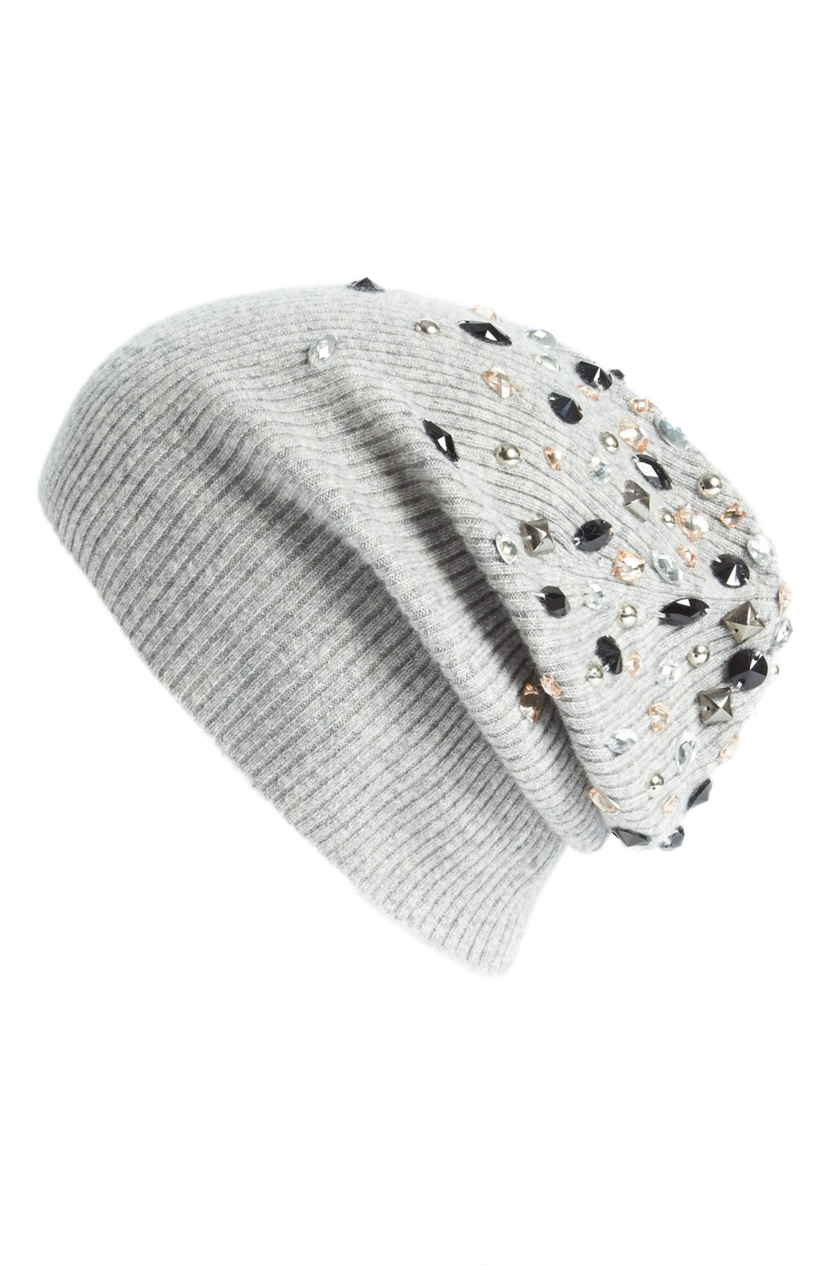 21be75f04 Embellished Cashmere Beanie