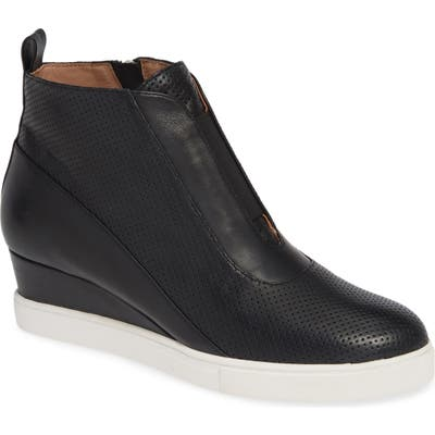 Linea Paolo Anna Wedge Sneaker, Black