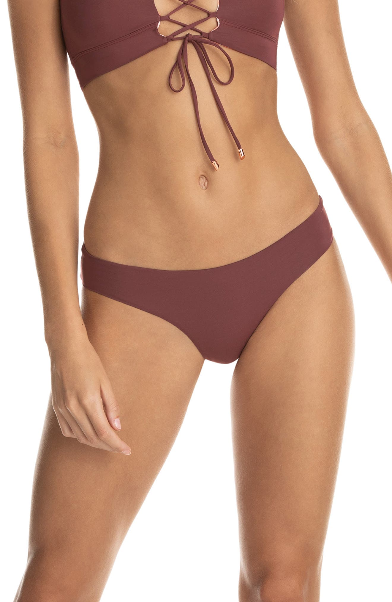 Crimson Circus Sublime Reversible Bikini Bottoms
