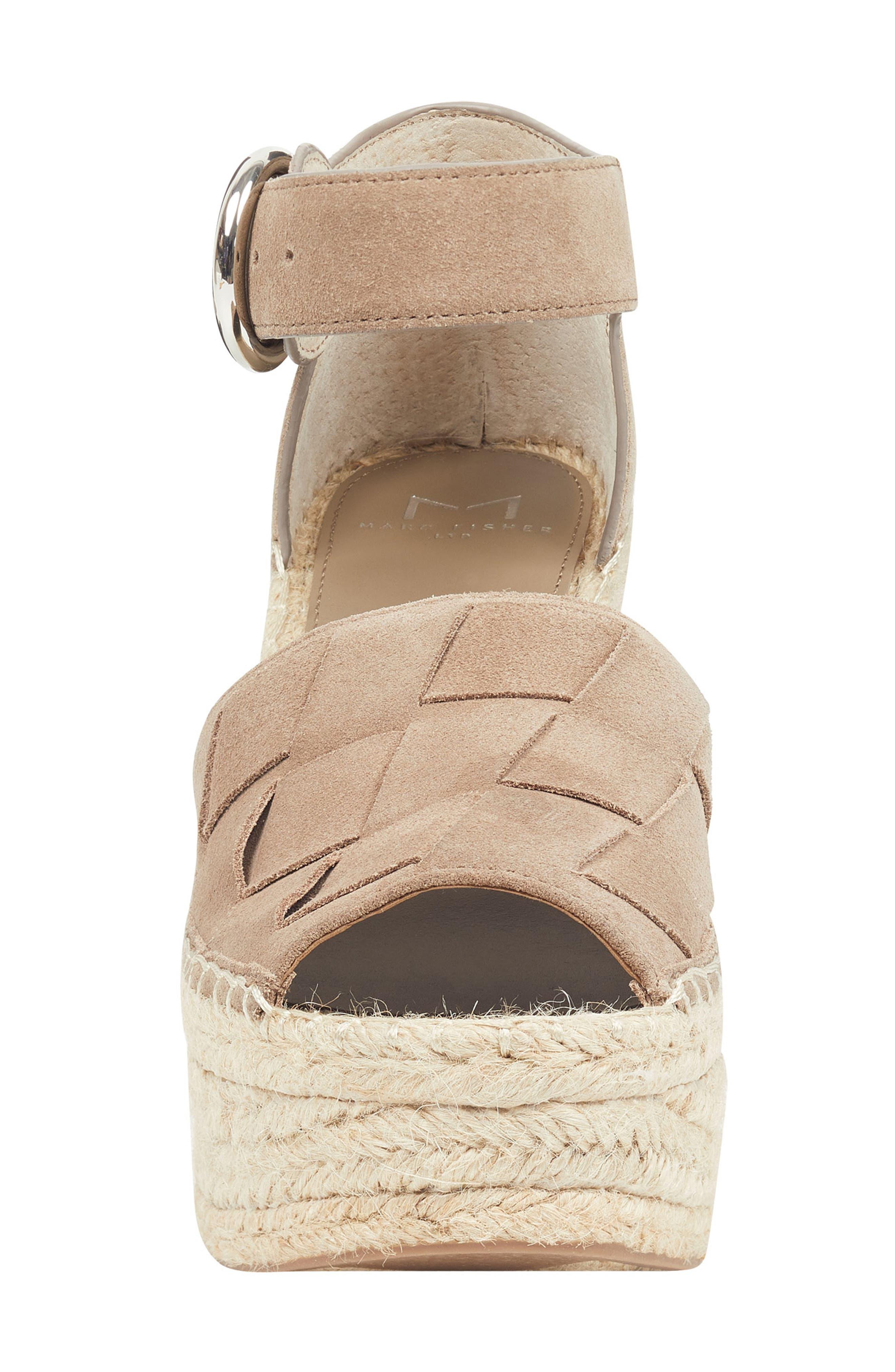 ,                             Adalla Platform Wedge Sandal,                             Alternate thumbnail 4, color,                             250