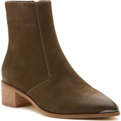 Botkier Greer Pointy Toe Bootie- Green