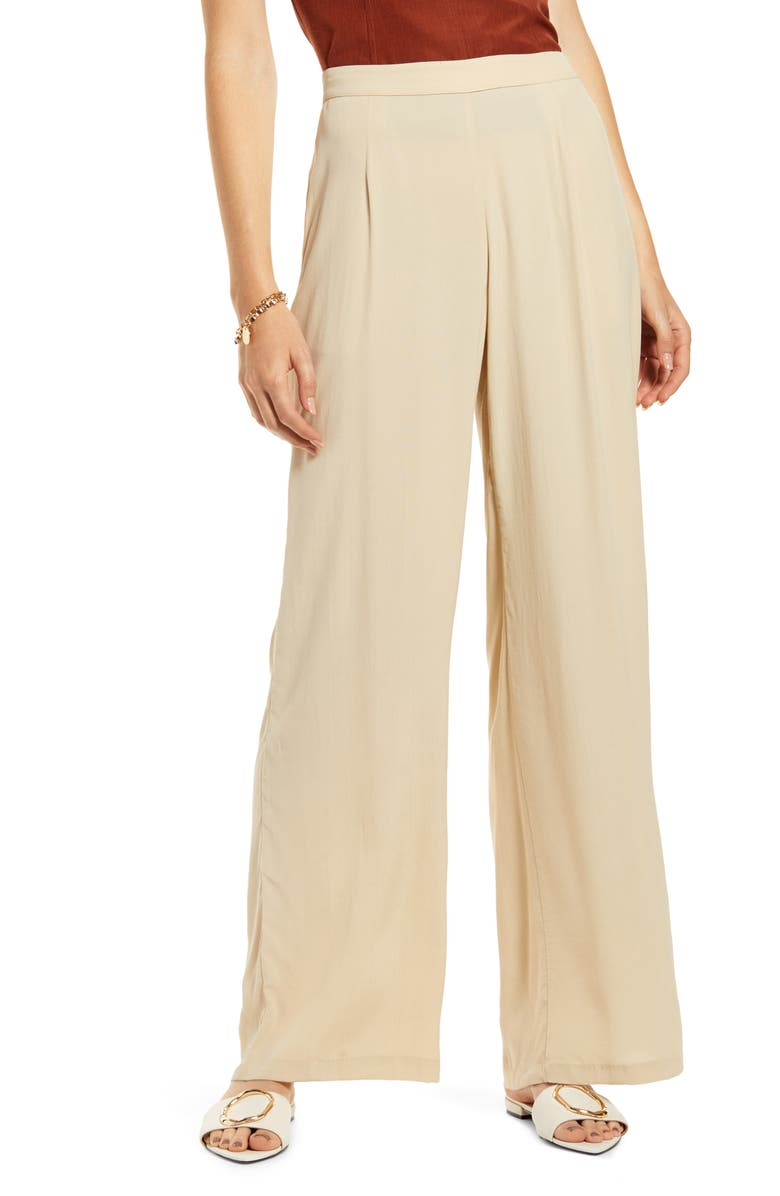 SOMETHING NAVY Relaxed Wide Leg Pants, Main, color, 230