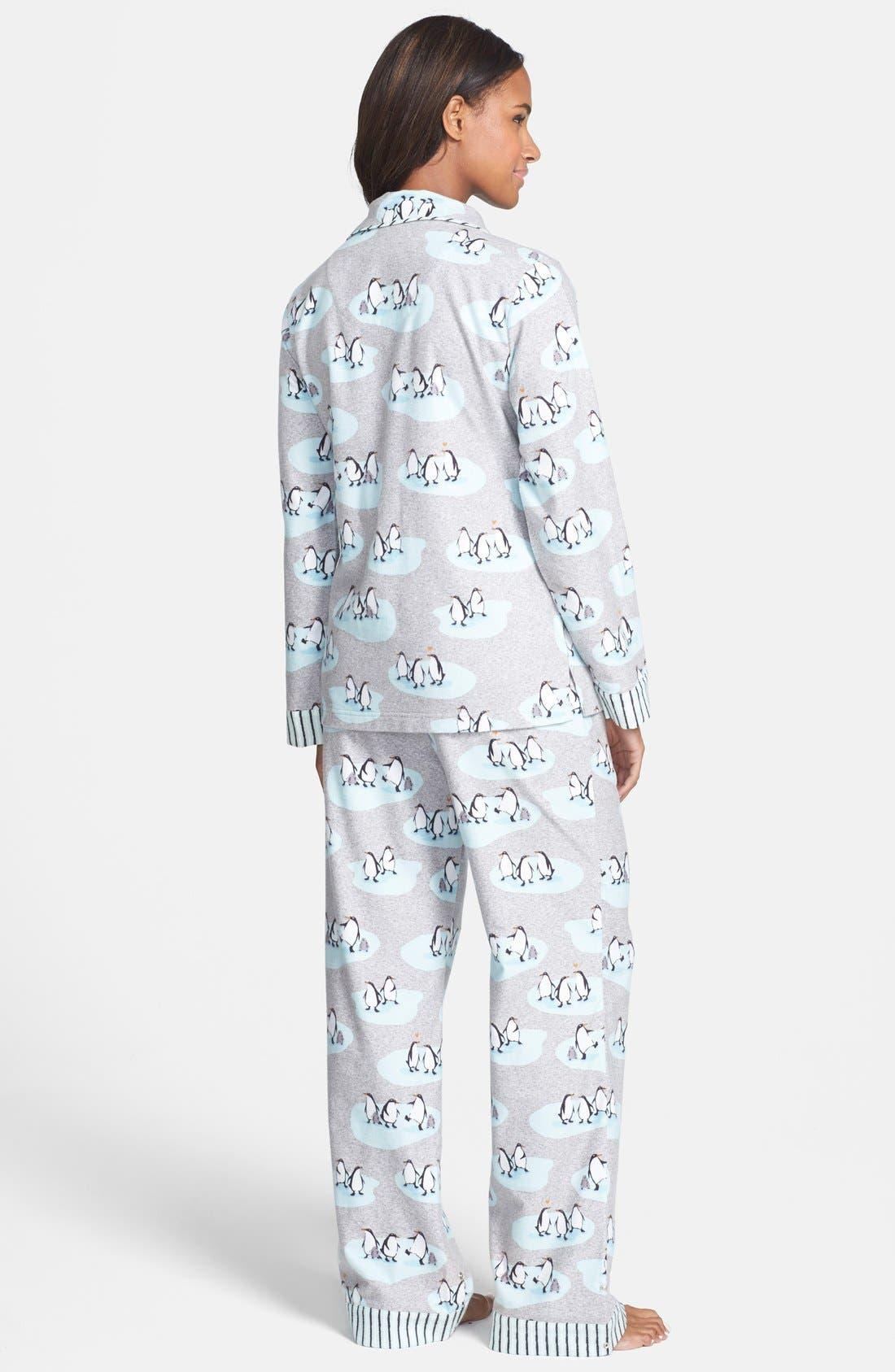 ,                             Flannel Pajamas,                             Alternate thumbnail 6, color,                             061