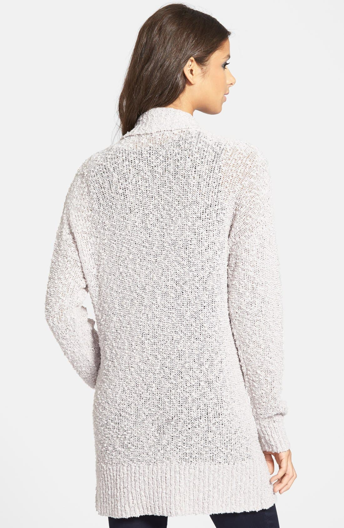 ,                             Textured Open Front Cardigan,                             Alternate thumbnail 10, color,                             030