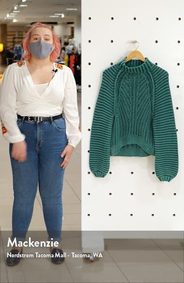 Sweetheart Mock Neck Sweater, sales video thumbnail