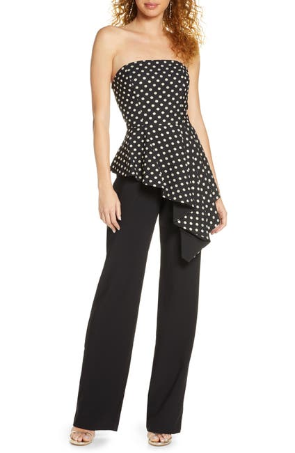 Image of Black Halo Parma Jumpsuit
