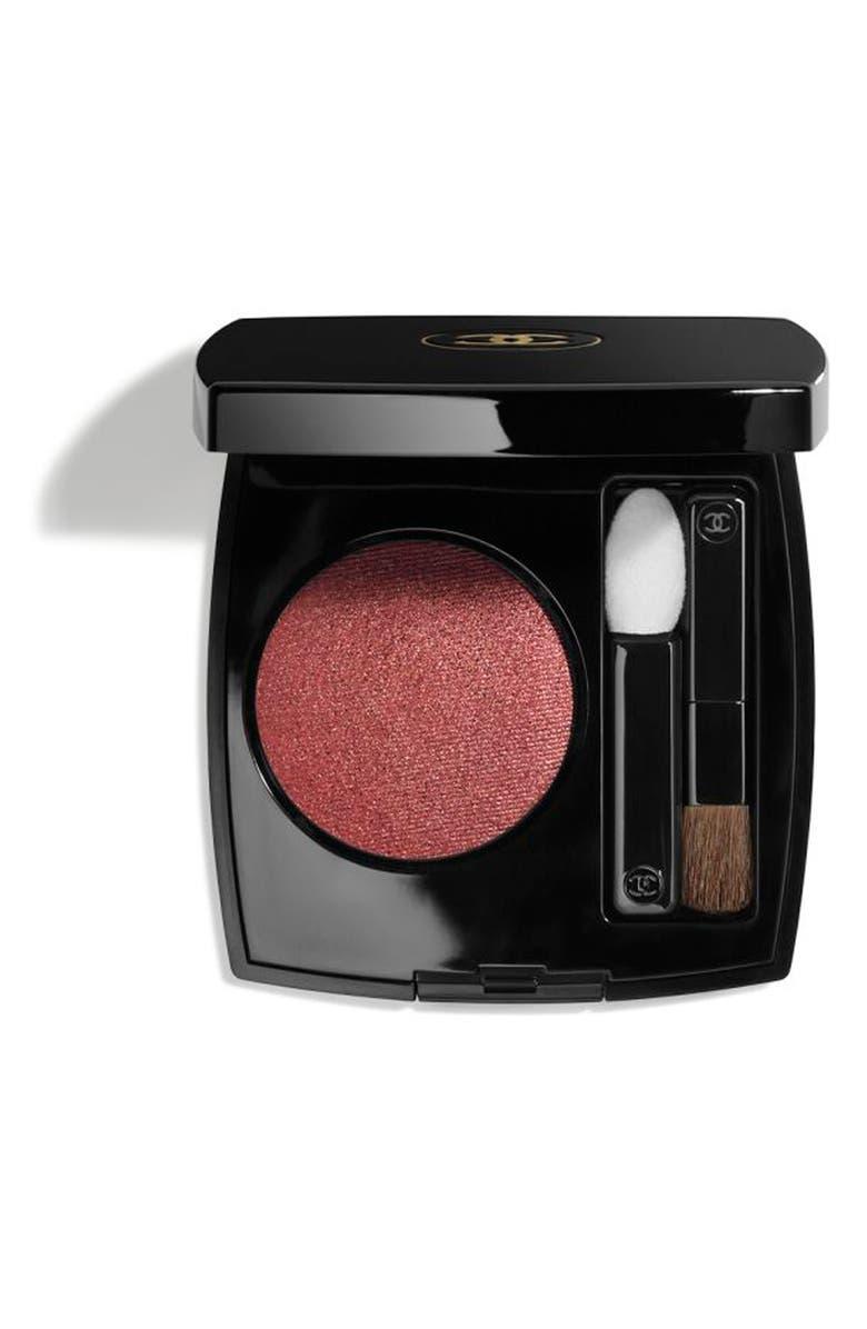 CHANEL OMBRE PREMIÈRE <br />Longwear Powder Eyeshadow, Main, color, 36 DESERT ROUGE